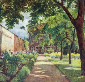 Jessie MacGregor 1913 Hogarth's House